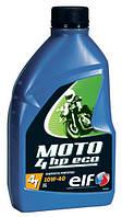 Моторное масло Total ELF Moto 4 HP Eco 10W-40 1л