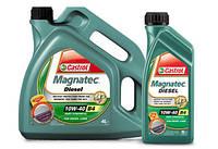 Моторное масло Castrol Magnatec A3/B4 Diesel 10W-40 1л
