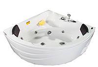 Ванна угловая Appollo 154х154 см с гидромассажем AT-1515