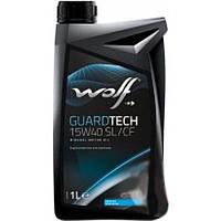 Моторное масло Wolf Guardtech SL/CF 15W-40 1л