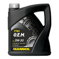 Моторное масло MANNOL 7701 O.E.M. 5W-30 for Chevrolet Opel 60л