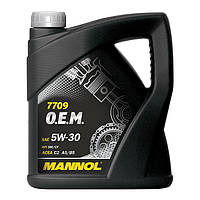 Моторное масло MANNOL 7709 O.E.M. 5W-30 for Toyota Lexus 208л