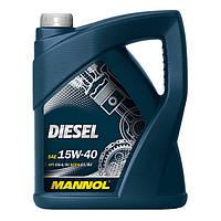 Моторное масло MANNOL Diesel 15W-40 60л