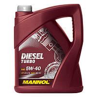 Моторное масло MANNOL Diesel Turbo 5W-40 60л