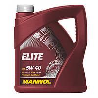 Моторное масло MANNOL Elite 5W-40 60л