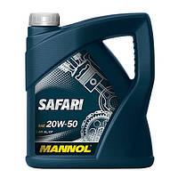 Моторное масло MANNOL Safari 20W-50 1000л
