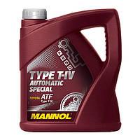 Трансмиссионное масло MANNOL TYPE T-IV AUTOMATIC SPECIAL 20л