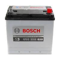 Аккумулятор Bosch S3 45AH/300A (S3016)