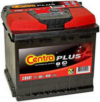 Аккумулятор Centra Plus 50AH/450A (CB501)