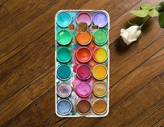 Чехол для Samsung Galaxy J510/J5 - 2016 с картинкой Палитра красок, фото 2