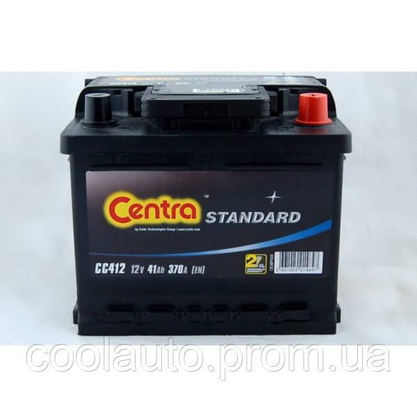 Аккумулятор Centra Standart 41AH/370A (CC412) - Интернет-магазин CoolAuto (Кулл Авто) в Харькове