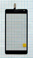 Тачскрин сенсорное стекло для Microsoft Lumia 535 (CT2C1607..) High Copy black