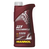 Трансмиссионное масло MANNOL ATF MULTIVEHICLE 208л