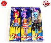Кукла Пони 3 вида 6007A