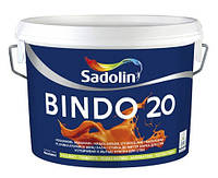 Краска для стен  и потолка Sadolin BINDO 20 ( Садолин Биндо 20) 2,5л