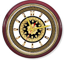 Настенные часы  Золотая флоралия II