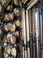 Деревянные шторы для кухни