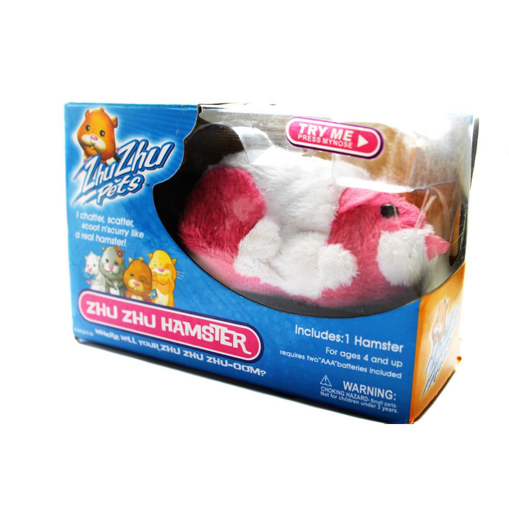 Интерактивный хомяк Zhu-zhu Pet: 3 цвета, 20 функций. Zhu-hamster Jilly.