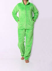 Теплая махровая женская пижама. Размер: 42-52