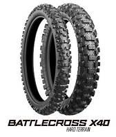 Bridgestone Battlecross X40 110/90 -19 62M R NHS TT
