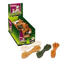 Лакомство для собак зубная щетка vegie tooth mix Karlie-Flamingo , 15 см 503283