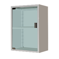 Мебель медицинская Шкаф медицинский навесной (аптечка) ШМН