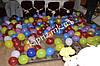 Воздушные шары надутые воздухом
