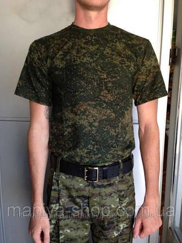 Футболка Пиксель-Россия(Армия)
