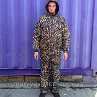 Костюм зимний, не промокаемый, ткань-микрофибра, для охоты и рыбалки.