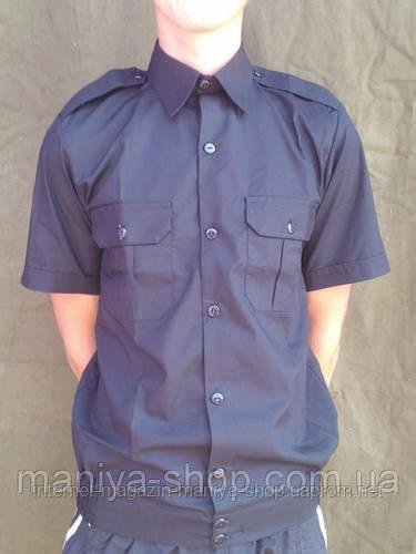 Рубашка Форменная Черная