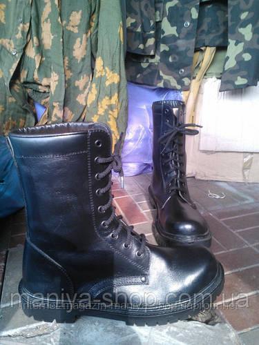 """Берцы. Модель: Кожаные """"НАТО."""