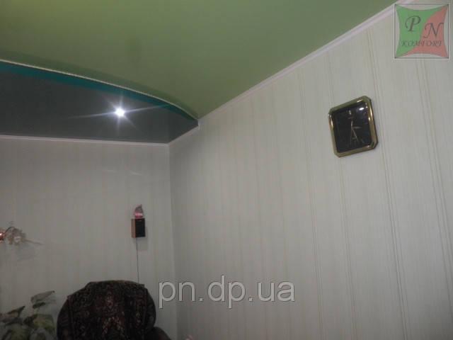 Двухуровневый натяжной потолок 4