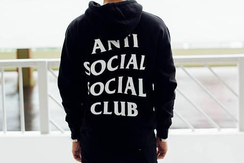 ASSC Крутая Худи  \ Anti Social Social Club \ Бирка оригинал