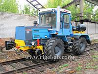 Локомобиль Колесно-рельсовый тягач КРТ-1