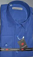 Турецкая приталенная рубашка GUISEPPE GENTILE  (размеры S,M,L,XL,XXL)