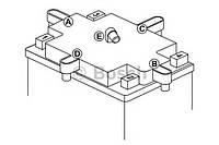 Аккумулятор для мототехники bosch moba agm m6 12v 12ah 100a (ytx14-4/ytx14-bs) 152x88x147mm 5.02kg на