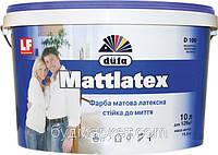 Краска латексная матовая D100 Dufa 5 л