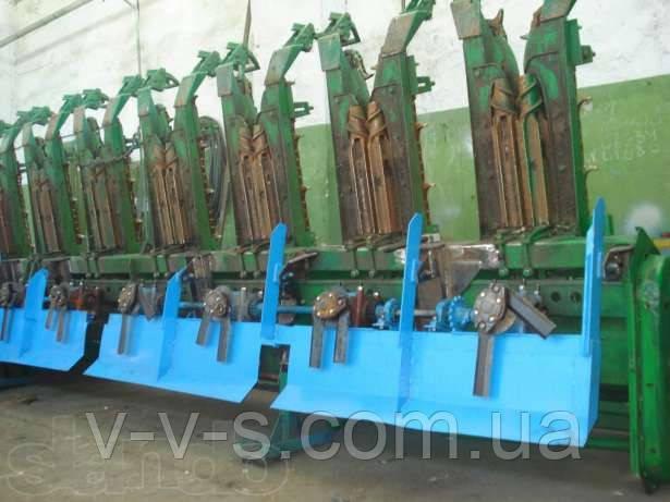 Установка измельчителя на кукурузную жатку John Deere, Case, CLAAS, Massey Ferguson