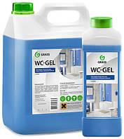 GRASS Клининговое средство для  мойки сантехники WC-GEL 5 kg.