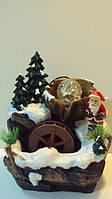 Фонтан комнатный «В гостях у Деда Мороза» размер 26*20*15