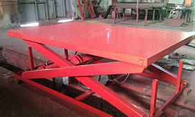Стол подъемный Docker ножничный 2500х1500мм, ход 1,5м / Lift platform Docker scissor 2500х1500mm