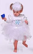 Платье снежинка р.74, прокат Киев 80грн
