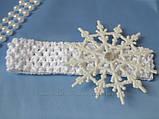 Сукня сніжинка прокат Київ 150грн, фото 7