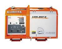 Дизельный генератор Kubota GL 6000 в кожухе