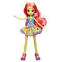 Куклы и пупсы «My Little Pony Equestria Girls» (B1769) кукла Флаттершай (Fluttershy), 22 см
