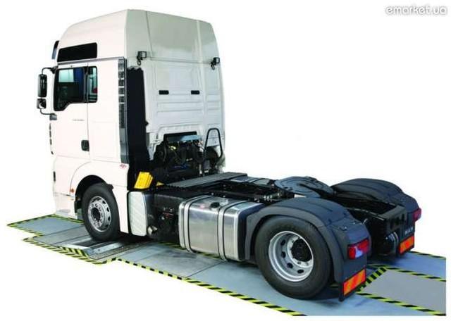 Тормозной стенд Hofmann safelane truck  N SC PC 2 13 t
