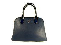 Сумка женская саквояж Velina Fabbiano 523375-3 синяя