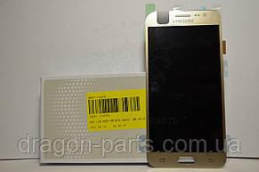 Дисплей Samsung J500 Galaxy J5 с сенсором Золотой Gold оригинал , GH97-17667C, фото 2
