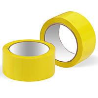 Скотч упаковочный жёлтый 90м