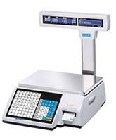 Весы с чекопечатью CAS CL5000J-IP/R
